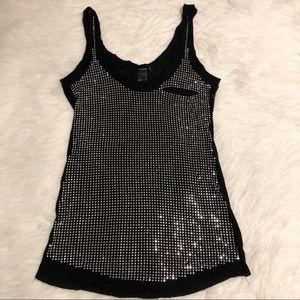 GUESS Sparkly Tank Top